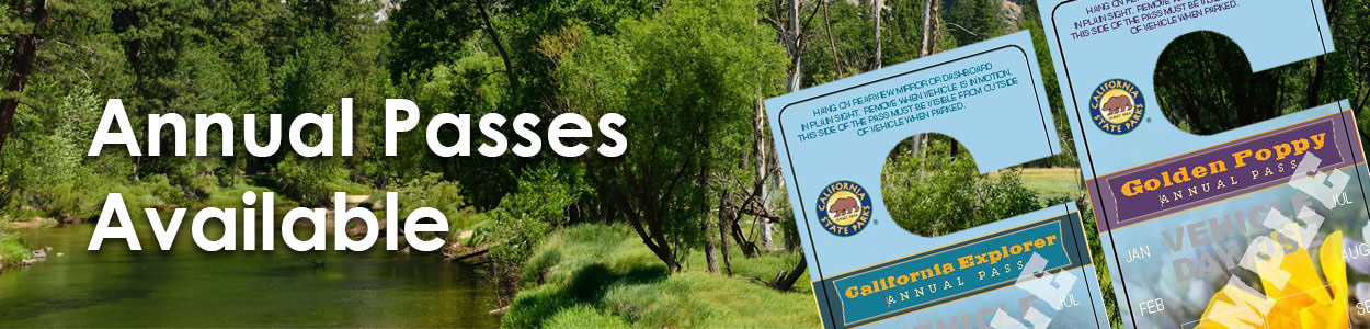 CA State Park Annual Passes Available